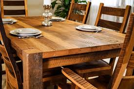 Barnwood Kitchen Table Timber Ridge Reclaimed Barn Wood Dining Table