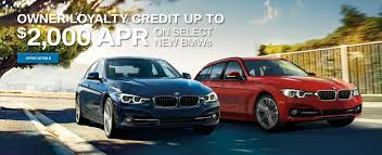 owner loyalty credit on select bmw models at moses bmw