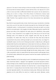 applied ethics course essay  one would be 4 speciesist