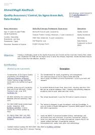 Quality Control Analyst Resumes Tester Resume Assurance Game
