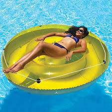 pool round raft. Simple Raft Inflatable Round Lounger 72in 6ft Vinyl Pool Beach Lake Float Raft W Grab  Rope For W