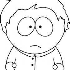 Dazzling Ideas South Park Coloring Pages Kiel Pinterest Page To