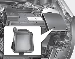 kia forte fuse relay panel description fuses maintenance engine compartment fuse panel ✽ notice