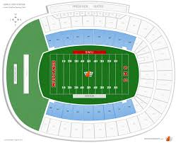 Ford Stadium Seating Chart Gerald Ford Stadium Lower Endzone Football Seating