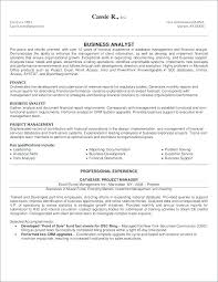 Supply Chain Management Resume Impressive Business Analyst Resumes Mkma