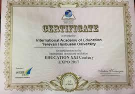 Образование и карьера expo haybusak Образование и карьера expo 2017
