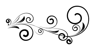 Decorative Design Impressive Decorative Vintage Swirl Floral Silhouette Design RoyaltyFree Stock