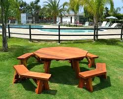 octagon picnic table custom octagon picnic table made in large octagon picnic table plans