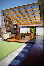 polycarbonate roof panels clear roof covered pergola polycarbonate roof skillion roof stack bond