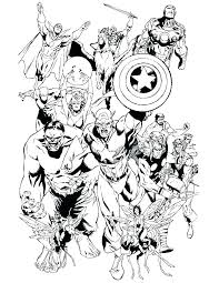 Avengers Coloring Pages Free Printable Coloring Pages Avengers