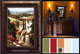 tuscan framed art village decorating colors large tuscan framed art tuscany framed prints tuscan framed art