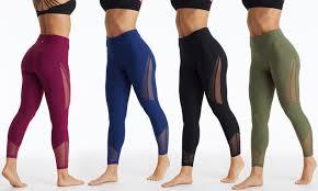 Bally Total Fitness Womens Full Length Leggings Groupon