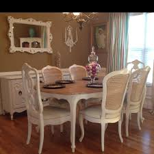 gorgeous french provincial dining set 1500