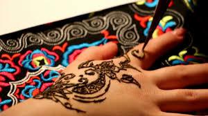 временная био тату хной мастер класс мехенди менди как рисовать био татуировку хной Meemile мода Handmade и