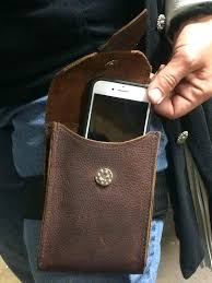 leather cell phone pouch thigh holster holder riding leg for pouches roots mobile leather cell phone pouch small holster