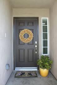 cost to paint front door of house best black paint for front door uk paint for front door