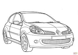 Coloriage Renault Clio Sport Coloriages Imprimer Gratuits