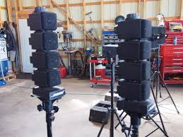bose tower speakers. bose tower speakers cube speaker system, model 403 (2 pieces w/ base bin. loading zoom e