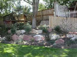 rock wall landscaping contractor rock landscape