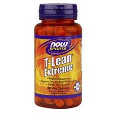Now Foods <b>T</b>-<b>Lean Extreme</b> - <b>60</b> VCapsules - eVitamins.com
