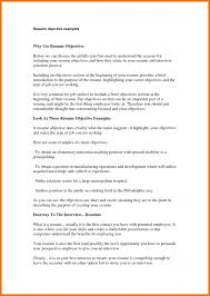 First Job Resume Objective Examples Of Resumes Computer Science