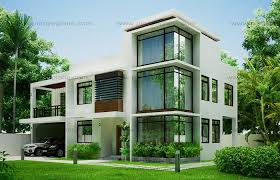 Small Picture Modern House Design 2012002 Pinoy ePlans