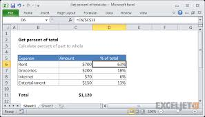 Putting Counts And Percentages On A Bar Chart In Excel Excel Formula Get Percentage Of Total Exceljet