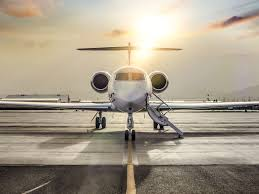 Aircraft that has a fixed wing and is powered by propellers. Private Jets Accessible To More Travel Clients In Pandemic Era Bloomberg