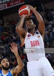 William Buford of Roma in action during the LBA Serie A match Virtus...  News Photo - Getty Images