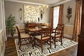 dining room decoration. Zebra Print Dining Room Decor Decoration