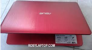 Harga yang ditawarkan cukup murah dan sangat cocok untuk pelajar atau mahasiswa yang tidak terlalu membutuhkan laptop berkemampuan grafis. Asus X441s N3060 Red Rosy Laptop Malang