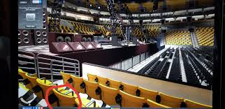 my seat for the concert at td garden so excited