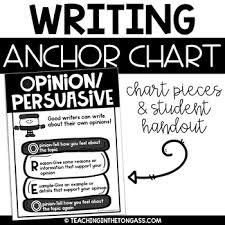 Oreo Writing Poster Opinion Writing Anchor Chart