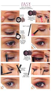 easy eye makeup tutorial for beginners you can follow these 2 diffe gorgeous day makeup and night makeup looks easily yourself