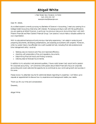Size Of College Student Cover Letter For Internship