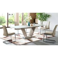 extendable glass table frosted glass extendable beige dining table with v shaped extendable glass top dining extendable glass table