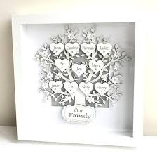 tree picture frame family tree frames personalised gifts box frame keepsake with inspirations 2 tree picture tree picture frame picturesque family