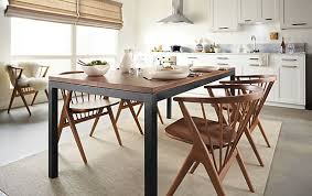 architecture room and board dining tables contemporary parsons table with soren chairs modern intended for