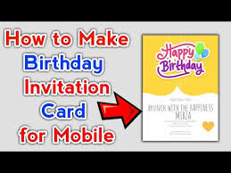 happy birthday card maker app how to
