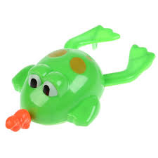 Умка <b>Заводная игрушка для</b> ванны «Лягушка с гусеничкой ...