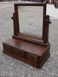antique mirrored furniture. Vintage American Shaving Mirror Dresser Furniture Within Antique Decor 5 Mirrored F