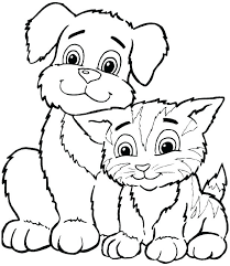 free printable animal coloring book pages free animal coloring free printable dog coloring pages dog coloring