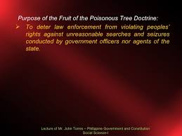 EULAs Fruit Of The Poisonous TreeFruit Of Poisonous Tree Doctrine Definition