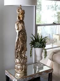 golden sculpture lamp