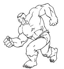 Small Picture Hulk Coloring Pages Free Super Heroes Coloring pages of