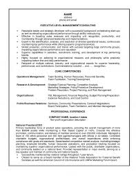 Consultant Profile Sample Management Consulting Resume Example