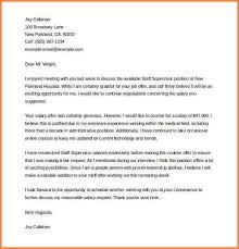 counter offer letter sample counter offer letter template ms word