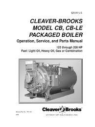 cb cble hp rev boiler water heating