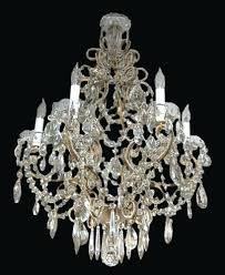 french crystal beaded chandelier rissa