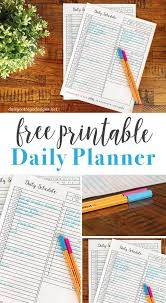 Daily Goal Tracker Daily Habit Tracker A Printable Goal Tracker Daisy Cottage Designs